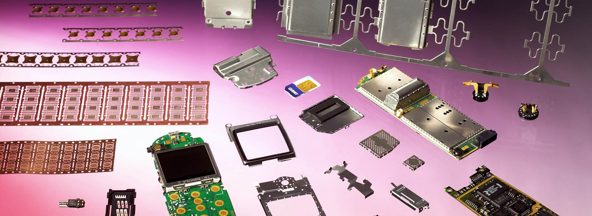 Parts for telecommunication